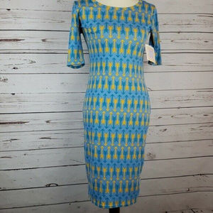 LuLaRoe Julia Size XS Woman's Midi Dress NWT